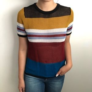 Multicolor Zara Trafaluo Top